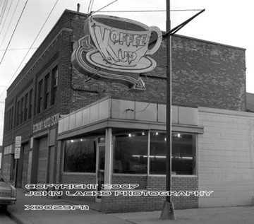The Koffee Kup Restaurant was located at 450 Portage Street February 3, 1973.